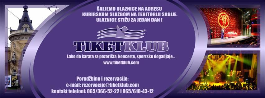 Бошко Буха - Репертоар за Децембар 2015. Tiket Klub