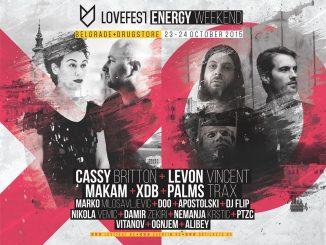 Lovefest - ENERGY - Drugstore, Tiket Klub