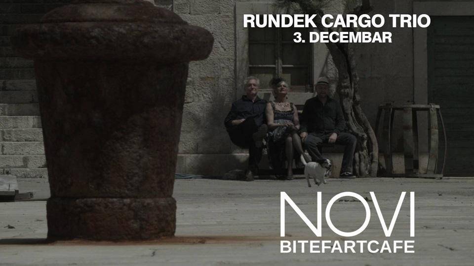 Rundek Cargo Trio - Novi Bitefartcafe, Tiket Klub