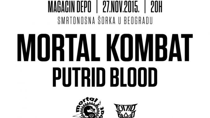 MORTAL KOMBAT - Magacin Depo, Tiket Klub