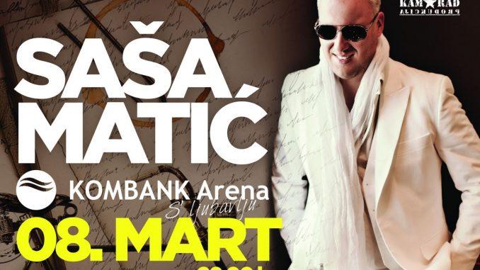 Saša Matić - KOMBANK Arena, Tiket Klub