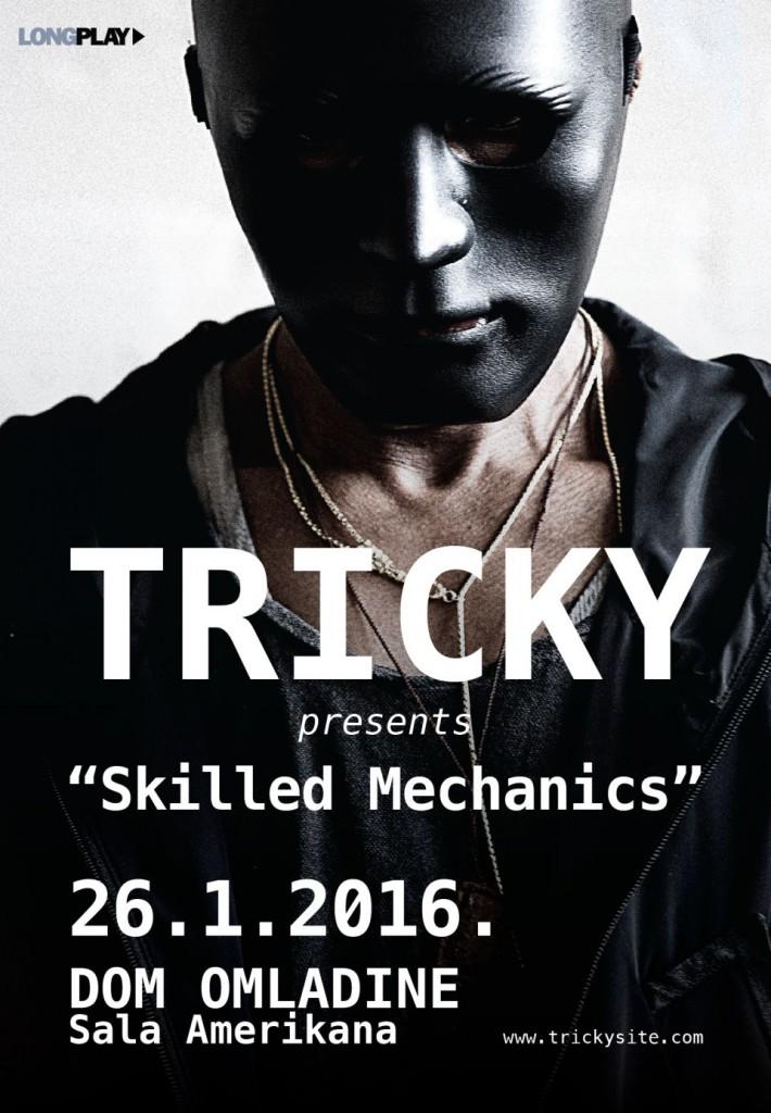 Tricky - Dom omladine Beograda, Tiket Klub