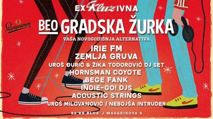 beoGRADSKA ŽURKA - potkrovlje bivše RK Kluz, Tiket Klub