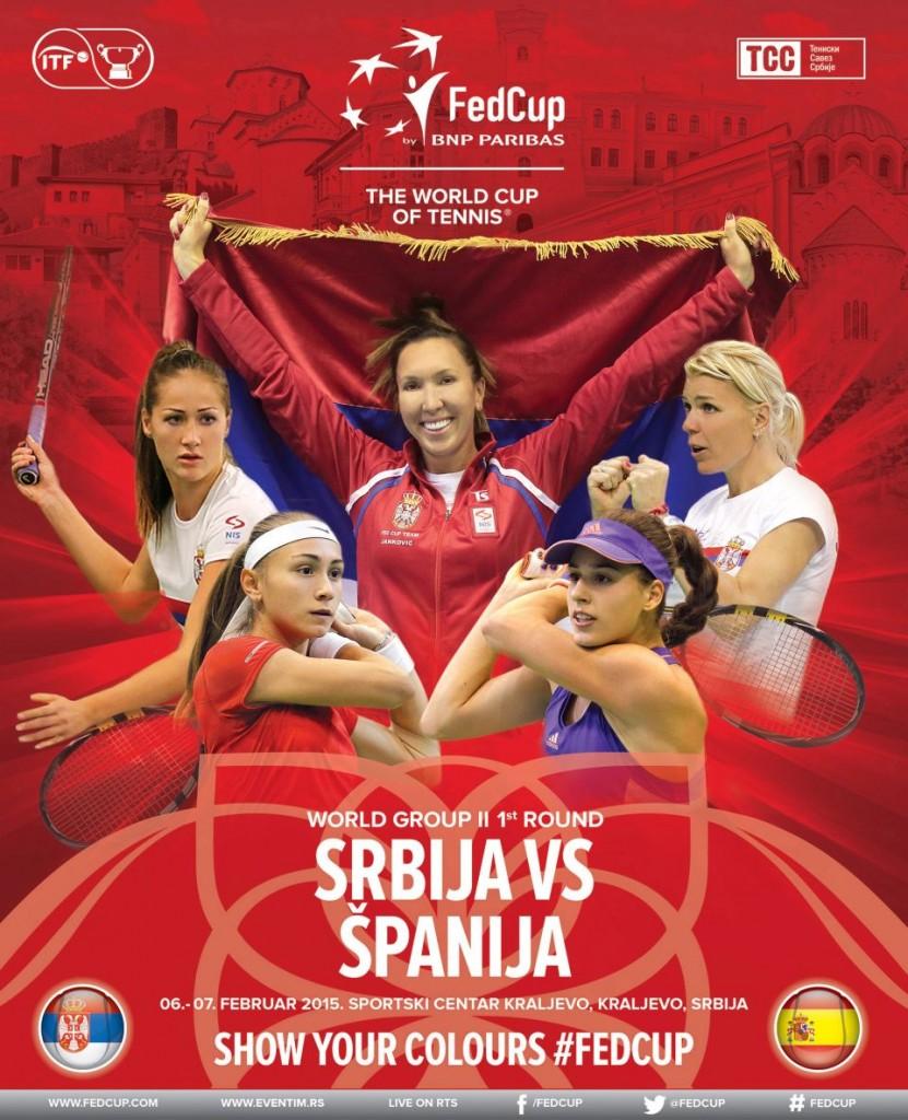 FED CUP: Srbija - Španija - SPORTSKA DVORANA KRALJEVO, Tiket Klub