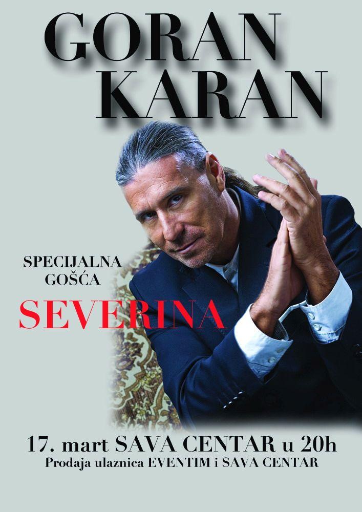 Goran Karan - Sava Centar, Tiket Klub