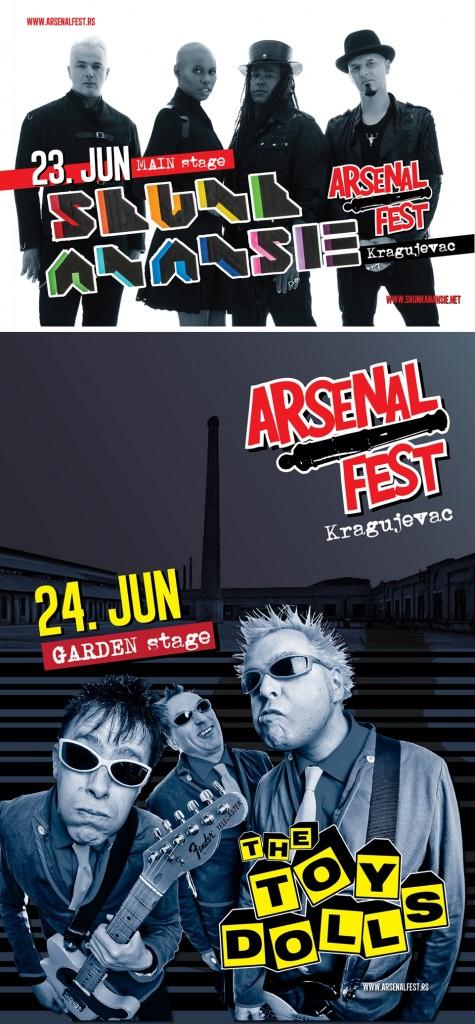 ARSENAL FEST - Knežev Arsenal, Tiket Klub