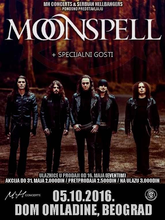 MOONSPELL – Dom omladine