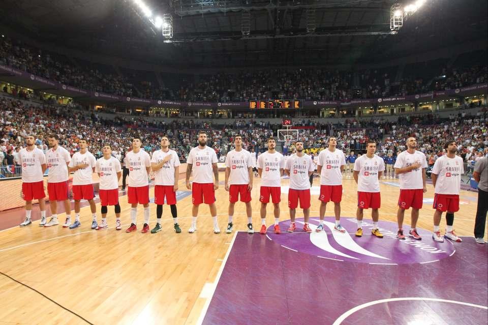SRBIJA - FRANCUSKA - KOMBANK Arena