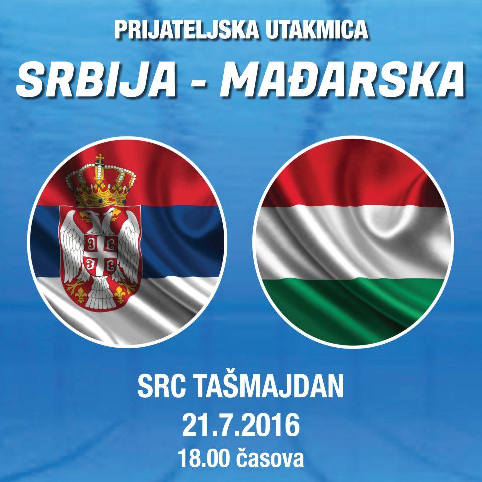 VATERPOLO  Srbija - Mađarska