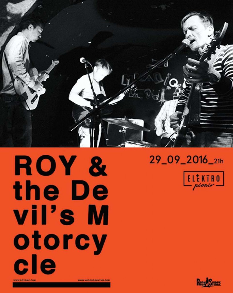 ROY & the Devil's Motorcycle - Klub Elektropionir