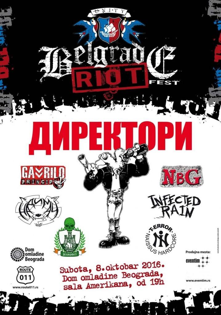 BELGRADE RIOT FEST - Dom omladine Beograda