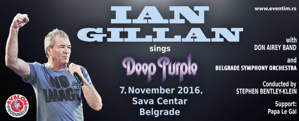 Ian Gillan and orchestra - Sava Centar