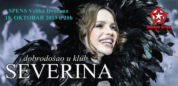 Severina - SPC SPENS, Novi Sad, Tiket Klub