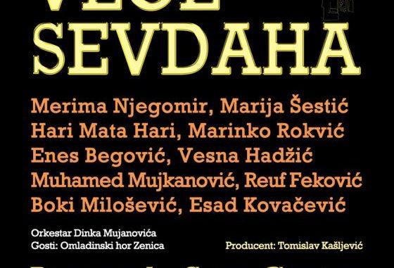 Veče Sevdaha - Sava Centar, Tiket Klub