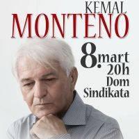 Kemal Monteno - Dvorana Doma Sindikata, Tiket Klub