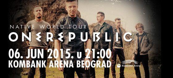OneRepublic - KOMBANK Arena, Tiket Klub
