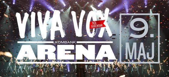 VIVA VOX - KOMBANK Arena, Tiket Klub