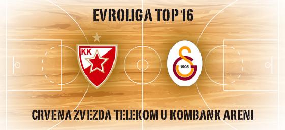 Crvena zvezda - Galatasaraj - Kombank Arena, Tiket Klub