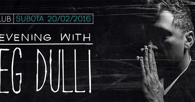 Greg Dulli - GUN CLUB, Tiket Klub