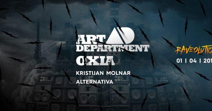 RAVEOLUTION - ART DEPARTMENT & OXIA - Beogradski sajam