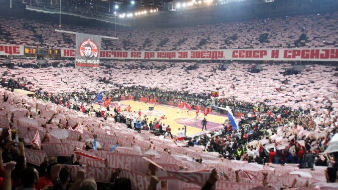 KK Crvena Zvezda Telekom - Panatinaikos - Kombank Arena